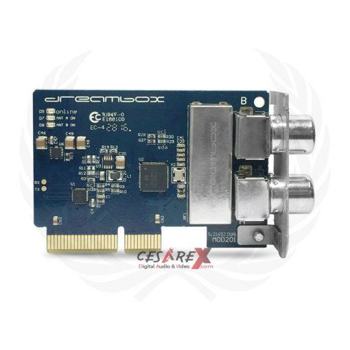 1x DVB-C/T2 Dual Tuner