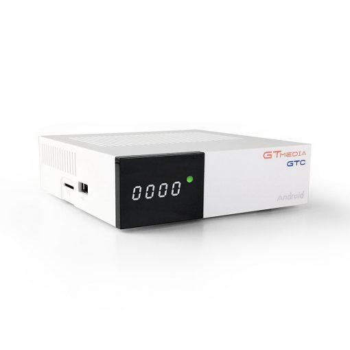 GTMedia GTC Android Smart TV Box DVB-S2/T2/C Combo Quad Core 4K WI-FI