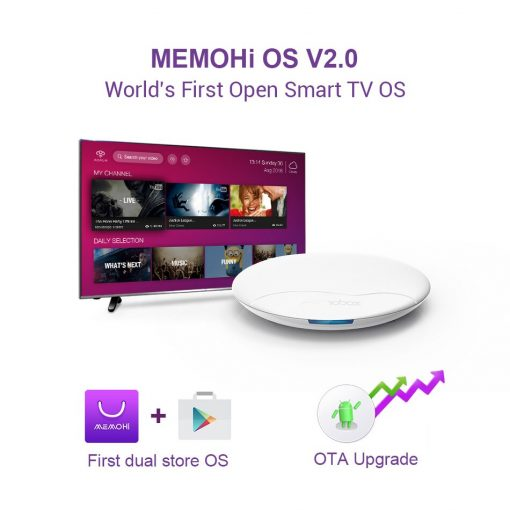 Memobox UFO Pro Android Box 4K AMLOGIC S905X 2+16Gb Wi-Fi