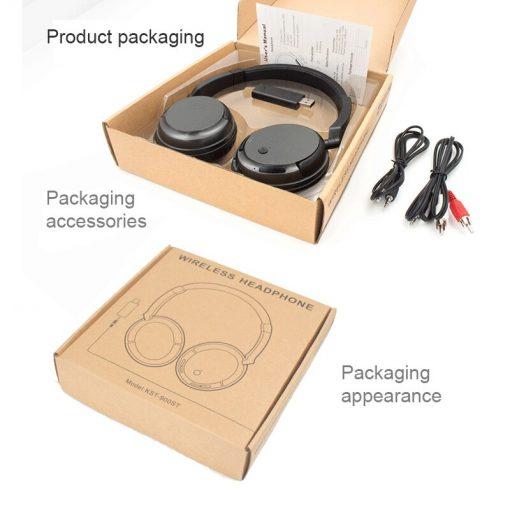 Cuffie per TV Wireless 2.4G con cavo e trasmettitore