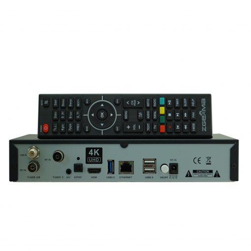 Zgemma H7C Combo 4K DVB-S2X + DVB-T2/C Zeta Gemma