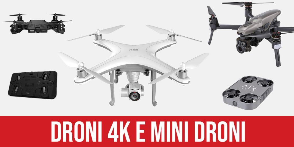 Banner Droni 4K Cesarex