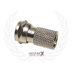 Connettore femmina per cavo coassiale 7mm