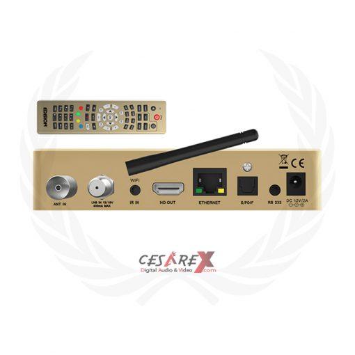 OS Nino Pro combo multistream DVB-S2X + DVB-T2/C Linux E2