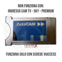 FullX Zeta<br>Cam Blu Viaccess