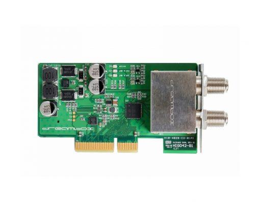 1x DVB-S2 Dual Tuner