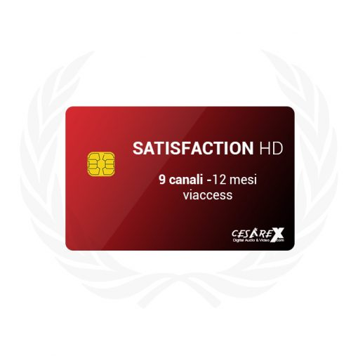 SCT Satisfaction 9 canali 1 anno Viaccess