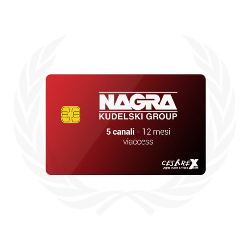 Multicard 5 canali 1 anno Nagravision