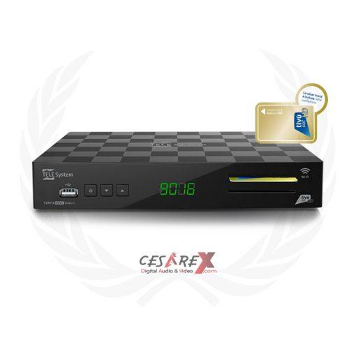 Telesystem TS9016 Wi-Fi tessera Tivùsat inclusa