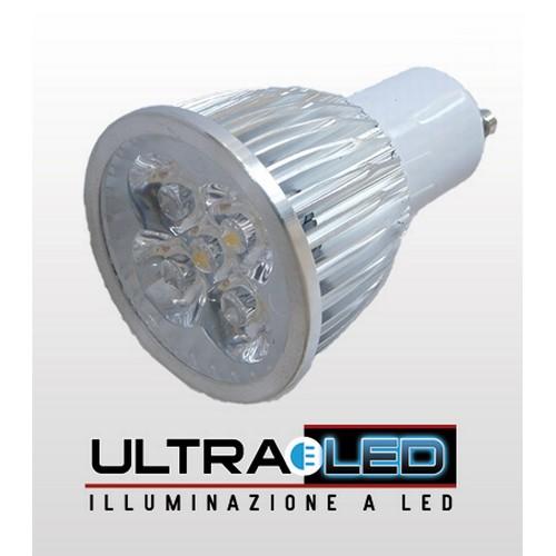Faretto 5W GU10 LED Luce Naturale