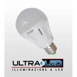 Lampadina a Bulbo 7W E27 LED Bianco Caldo
