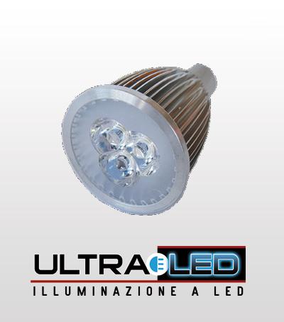 Faretto 5W GU10 LED Bianco Caldo