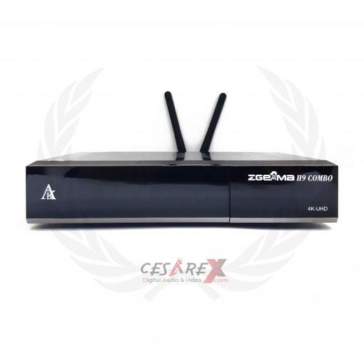 Zgemma H9 Combo 4K UHD Multistream Wi-Fi H.264-H.265 10bit Zeta Gemma